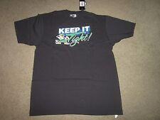 NOTRE DAME FIGHTING IRISH black Adidas tee T-shirt XL-NWT Keep it Tight!