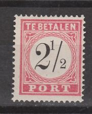 Port 5 A type 3 MNH PF Nederlands Indie Netherlands Indies due portzegel