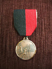 bronze Volleyball medal female action black/red pin drape 1 1/4""
