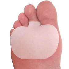 2 X Gel metatarso dolor Bola Del Pie Dolor Cojines almohadillas plantillas delantera del pie de apoyo