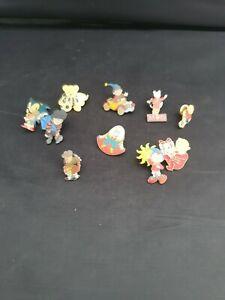 Kids Children's TV Badge Bundle Noddy Rupert Sonic Humpty Dumpty metal badges