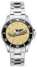 Kiesenberg Uhr 6206 Geschenk Artikel für BMW 5er E34 Oldtimer Fans und Fahrer