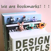Lustig. Lesezeichen Markierungen von Büchern Cartoon Animal Style Schulmaterial