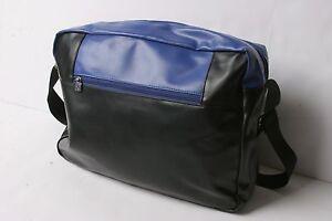 Converse Flat Zip Bag (Black Blue)
