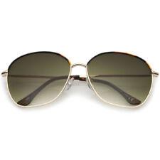 Gafas de sol de mujer degradadas oro