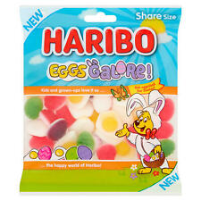 Haribo Eggs Galore! Easter Fruity Foam Gummy Sweets 180g Share Size Bag