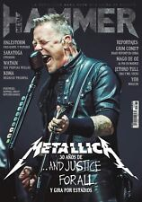 MAGAZINE METAL HAMMER SPAIN DECEMBER 2018 METALLICA JAMES HETFIELD JUSTICE FOR A