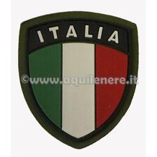 Patch Toppa Scudetto Italia SBB SoftAir Militare Esercito retro Velcro