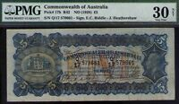 Commonwealth of Australia ND1928 £5 KEVIII PMG Certified VF30 R42 Pick# 17b RAR
