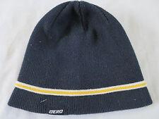 Aeropostale Aero Black Knit Beanie Skully Cap Skull Ski Hat Boys 8-20