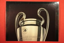 PANINI CHAMPIONS LEAGUE 2013/14 N. 4 THE CUP BLACK BACK MINT!