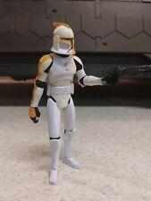 Star Wars Clone Wars 212th Attack Battalion Clone Trooper Hasbro 2008 Good Cond