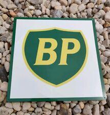 BP Gas Metal Sign oil gasoline racing vintage Garage Mechanic shop 12x12 50127