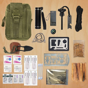 Ultimate Survival Emergency Gear First Aid Camping Backpacking Prepping BOB