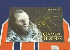 2020 The Complete Game of Thrones Ian Whyte Gold Ink Autograph