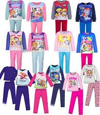 Schlafanzug Pyjama Paw Patrol Baumwolle Fleece Kinder Neu
