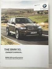 2013 BMW X5 X5M X6 X6M Genuine OEM Owner's Manual--Complete Set