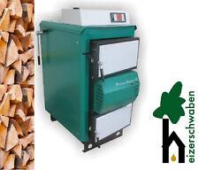 Holzvergaser 25 kW Orlan Super - BimschV2 - Großer Brennraum - Bedienfreundlich