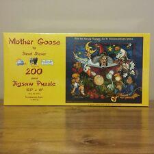 Mother Goose Puzzle By Jane Stever SunsOut Jigsaw Puzzle 81352 200 pcs 15.5 x 18
