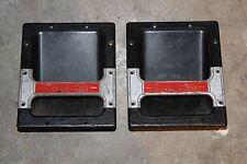 (2) VINTAGE CERWIN VEGA Speaker Carrying Handles PAIR.Cabinets box V32 V35 v 35