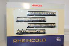 (xd-639) 0144 ARNOLD N Wagen-Set ´RHEINGOLD´ KKK DB  NEU OVP