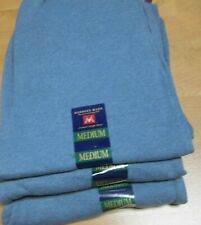 Men's Sweat Pants Members Mark Heather Blue Medium 3 Pair 2 Pocket Draw String