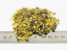 Genuine Natural Very Rare Green Polish Baltic Amber Large Beads w Holes - 20pcs