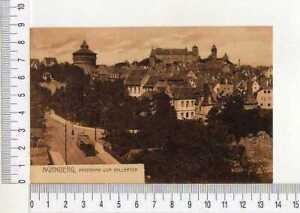 16544) Germany 30's PC ' Nurnberg, Panorama Vom Hallertor'