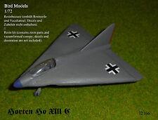 Horten Ho XIII C     1/72 Bird Models Resinbausatz / resin kit