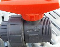 NIBCO Chemtrol 3/4 Tru-bloc valve 150 psi (Fedex Shipping)