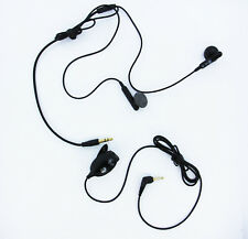 LG 2.5mm / 3.5mm Black Dual Headset Headphone with Microphone and Answer Button