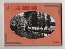 DÉPLIANT TOURISTIQUE TOURISME SOUVENIR Ed. Artaud La Suisse Normande 10 vues