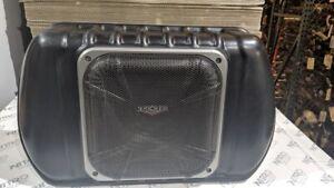 Kicker Subwoofer & Enclosure 2007-2010 Jeep Wrangler Unlimited JKU SWRA406
