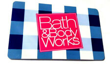 Bath & Body Works Gift Card No $ Value Collectible reloadable
