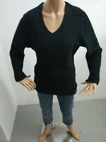 Maglione VERSACE Donna taglia size XXL sweater woman pull femme lana p 6126