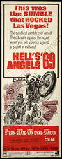 Hells Angels 69 Movie Poster Insert 14x36 Replica