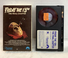 FRIDAY THE 13TH THE FINAL CHAPTER BETA BETAMAX TAPE W/ COVER 1984 Horror NOT VHS