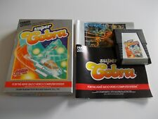 SUPER COBRA  ATARI 2600 / 7800 GAME COMPLETE (TESTED AND WORKING)