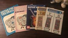 Pre-owned ~ Guitar for the Small Fry Book 1-B and 1-C Lot by Dick Bennett (1973)
