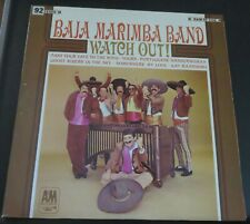 BAJA MARIMBA BAND - WATCH OUT!- A&M Vinyl Stereo LP - SP4118
