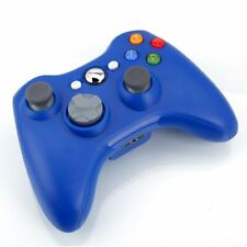 Official  Wireless Controller Gamepad Gamestick Blue For Microsoft xbox 360 FG