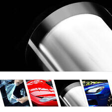 "12""x60"" Car Paint Protection Vinyl Film Wrap Sticker Clear Transparent 2 LAYER"