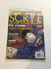 Scrye #105 MTG & CCG Price Guide Magazine *SEALED*