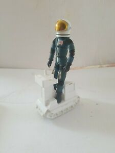 1969 Mattel Major Matt Mason - Lt. JEFF LONG with SPACE HELMET & LUNAR TRAC