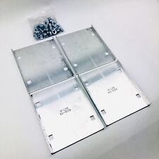 EATON COOPER B-LINE SPLICE PLATE 2 PAIR WITH HARDWARE