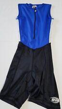 De Soto Sport Company Sleeveless Triathalon Skinsuit Shorts Cycling Extra Small