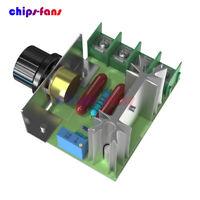AC 50-220V 2000W Speed Motor Controller SCR Voltage Regulator Dimmers Thermostat