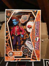 Muñeca Monster High Holt Hyde 1st Wave Serie 1 diario Crossfade Pet 2010 Nuevo Y en Caja Especial