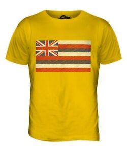 HAWAII STATE SCRIBBLE FLAG MENS T-SHIRT TEE TOP GIFTHAWAIIAN FOOTBALL