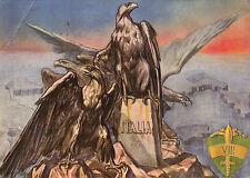 CARTOLINA - GUARDIA ALLA FRONTIERA - G.A.F. 1943 VIII SETTORE  C5-350